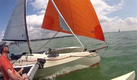 trimaran under sail sardine run 19 trimaran sailing in france small trimarans