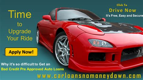 approved bad credit car loans getting pre approved for a car loan with bad credit