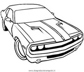 Dodge Challenger Colouring Pages Page 2 sketch template