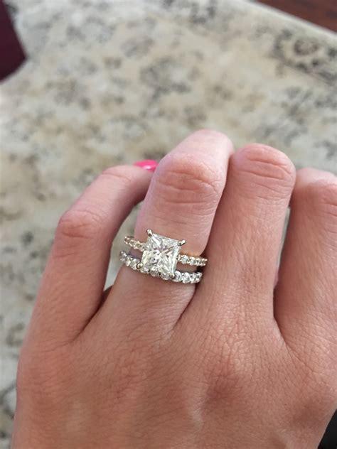 Wedding Ring Gap wedding rings engagement wedding ring gap stackable