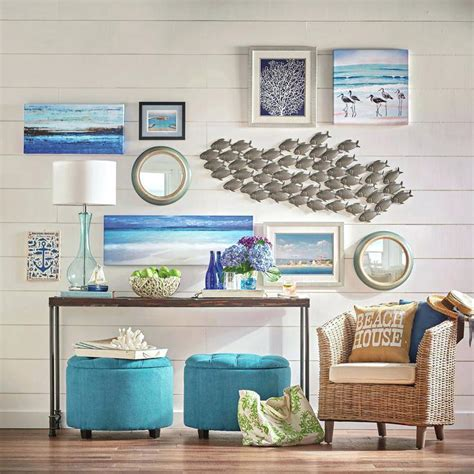 decorative artwork for homes extraordinary beach wall decor welcome to d on ideas for a