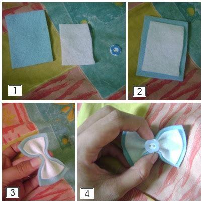 Cara Bikin Bando Pita Cantik | tutorial membuat bando dari kain flanel just a little