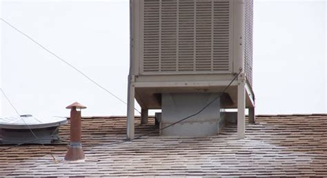 rooftop sw cooler installation roof evaporative cooler sw coolers usually use pads of