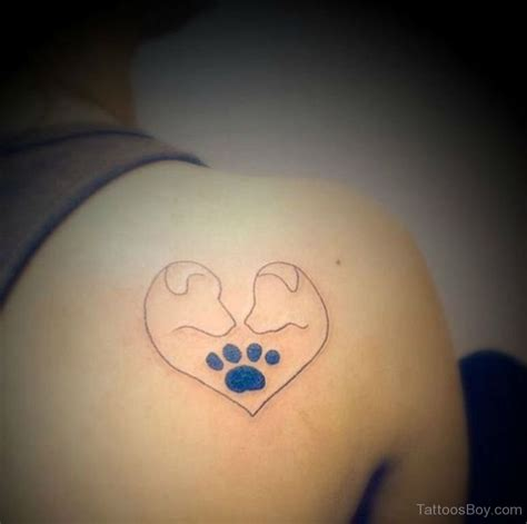 dog outline tattoo paw outline www imgkid the image kid