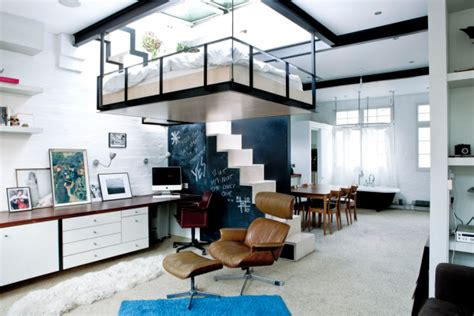 suspended bedroom smart space distribution in modern homes imagination and