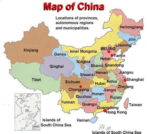 map of with provinces china maps