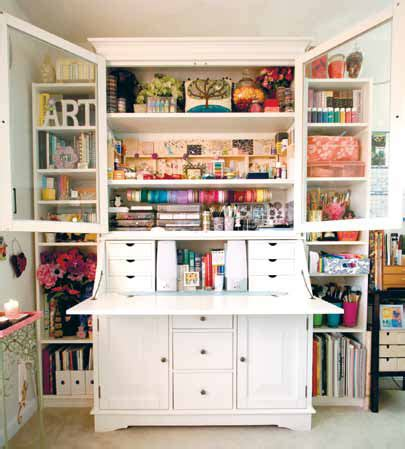 craft armoire | gine leekim's craft armoire, as seen in