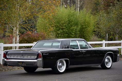 lincoln continental iconic 1963 lincoln continental offered at auction with no
