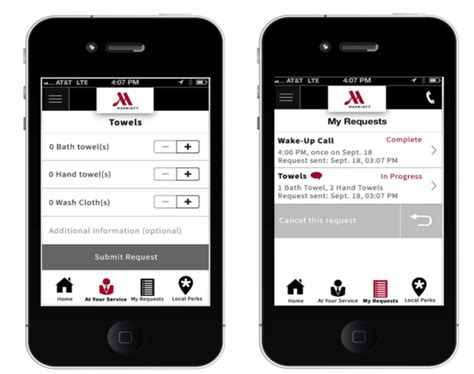 marriott mobile app how hotels with mobile apps are winning guests