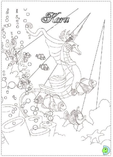bella sara coloring page dinokids org