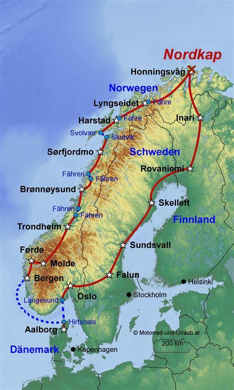 Nordkap Motorrad by Nordkap Reisen Norwegen Nordkap Und Skandinavien In