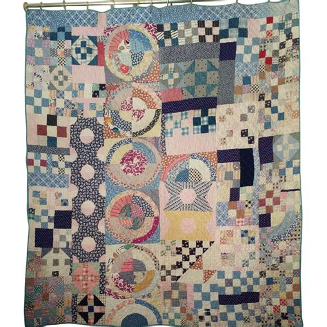 Handmade Quilts Patterns - antique handmade quilt circa 1885 olde sler sold on
