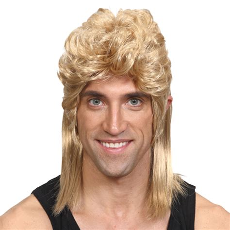 wigs world of wigs costume wigs styles men 70s shag 80 s style mullet wig fantasy world