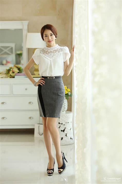 Baju Blouse Atasan Wanita Renda Cantik Korea Murah baju wanita putih polos brokat cantik toko baju wanita