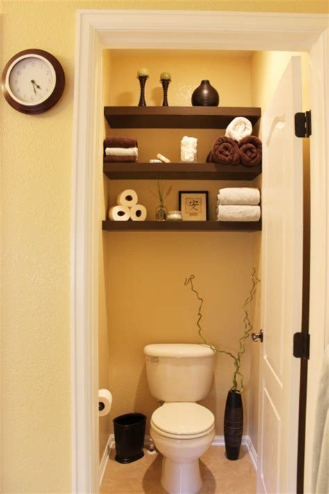 small bathroom shelves ideas half bath shelving 2paws designs