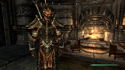 skyrim dragon armor retexture dragon plate armor retexture at skyrim nexus mods and