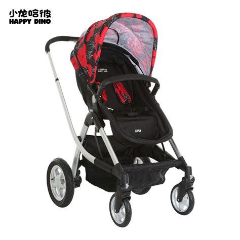 Stroller Happy Dino 499 Kereta Bayi world brand happy dino european high stable landscape folding lying baby stroller baby