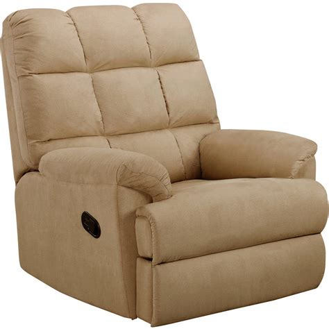 seat recliner recliner sofa chair microsuede rocking living room