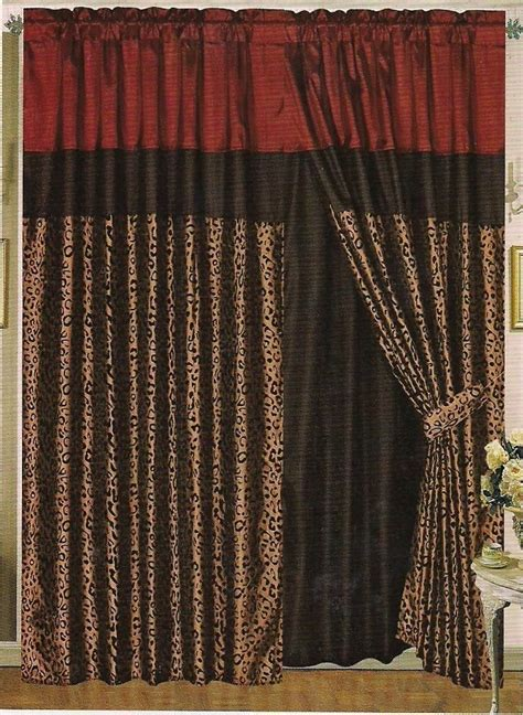 sheer leopard curtains 10 best images about livingroom on pinterest taupe
