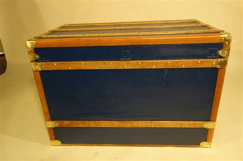 1900 s steamer trunk dresser with removable door