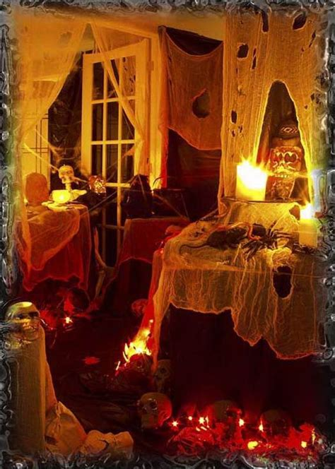 halloween home decorating ideas 50 stylish halloween house interior decorating ideas family holiday net guide to family