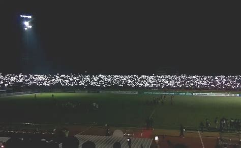 lampu stadion mati sebabkan timnas indonesia   kalah