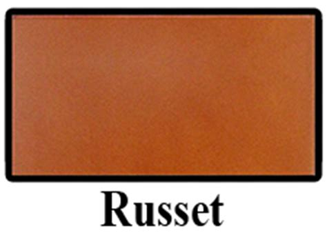 what color is russet leather colors synergist saddles