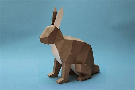 papercraft animal figurines 9 fubiz media