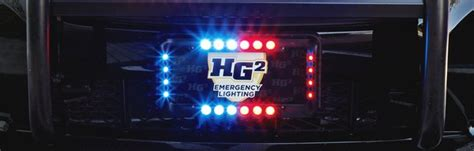 license plate emergency lights hg2 crossfire license plate light kit emergency equipment