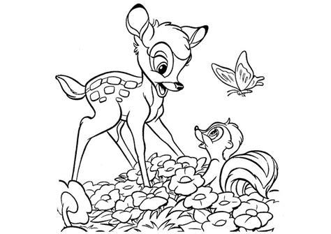 disney coloring pages bambi disney bambi coloring pages az coloring pages