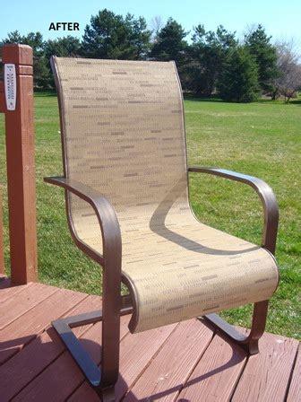 Sling Replacement Outdoor Patio Furniture Patio Sling Fabric Replacement Fl 027 Matrix Leisuretex 174 Pvc Olefin