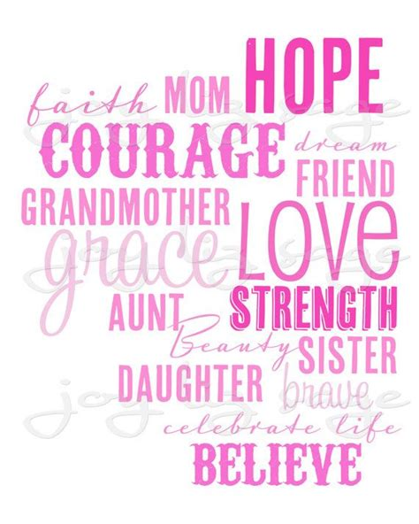 printable cancer quotes 68 best breast cancer awareness images on pinterest