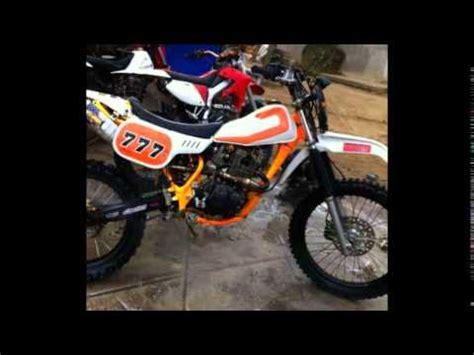 Rangka Trail modifikasi motor honda tiger revo 2006 modif trail dengan rangka asli