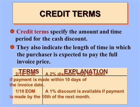 Credit Terms Discount Formula Financial Accounting 3e Weygandt Kieso Kimmel Ppt