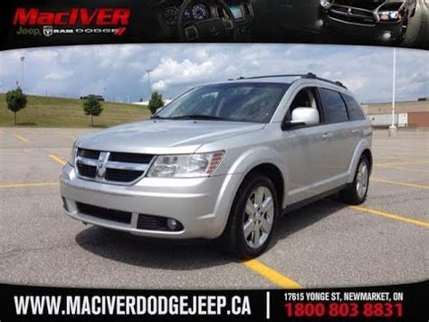 dodge jeep silver 2009 silver dodge journey sxt awd newmarket ontario
