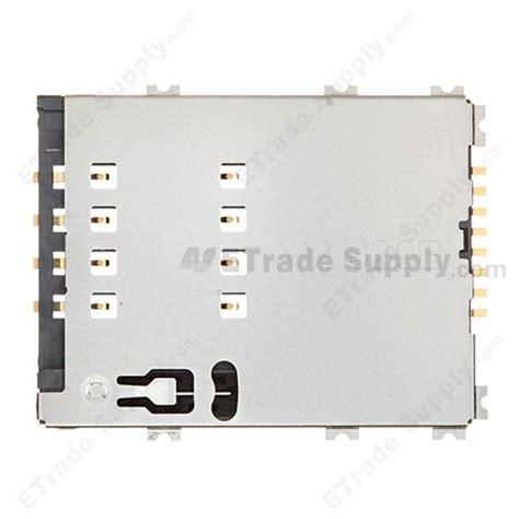 samsung galaxy tab 2 10 1 gt p5100 gt p5110 sim card reader contact etrade supply