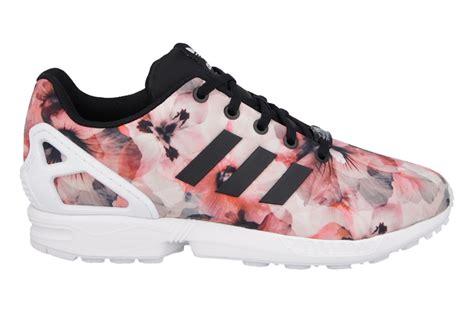 sneaker shoes adidas originals zx flux quot pink flowers quot b25643 sneakerstudio eu