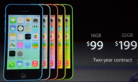 iphone 5c price apple iphone 5c revealed prices range from 99 to 199