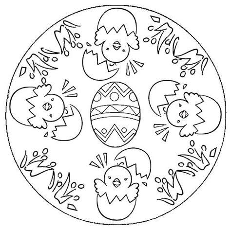 mandala coloring pages easter mandalas et jeux de p 226 ques le de jackie