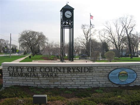 countryside il memorial park countryside il photo picture image illinois at city data com