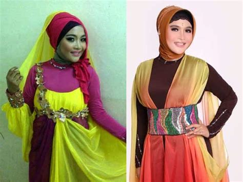 koleksi gaya hijab novi ayla kdi
