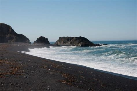 black sand beach california top 10 black beaches from around the world