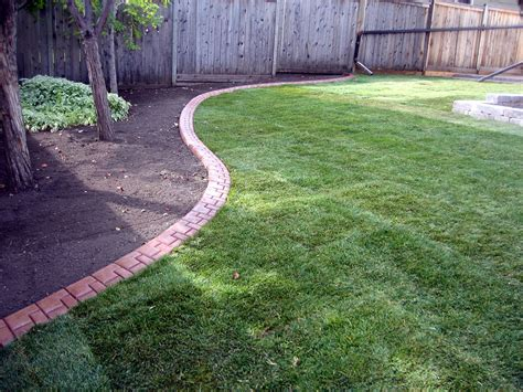 Landscape Curbing New Grass With Decorative Curbing K Landscapes