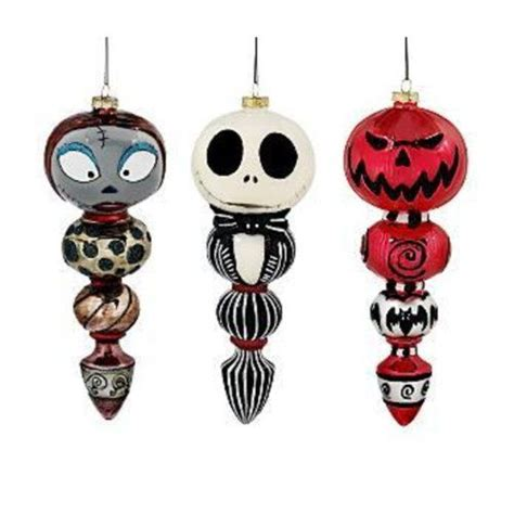 tim burton s nightmare before christmas ornament set