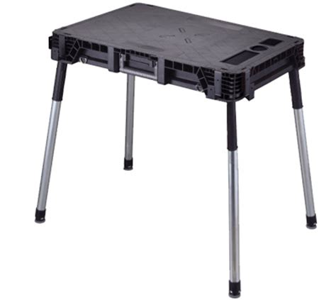 keter folding work table accessories keter jobmade portable folding work table work station