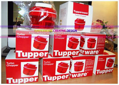 Turbo Chopper Merah Tupperware tupperware creative design turbo chopper malaysia