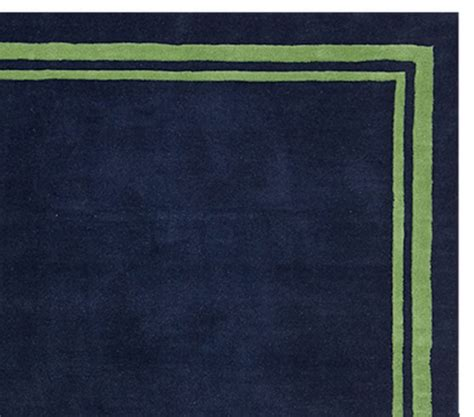 Navy And Green Rugs by Rug Navy Green Pottery Barn
