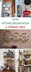 kitchen storage ideas diy 18 diy kitchen organization and storage ideas