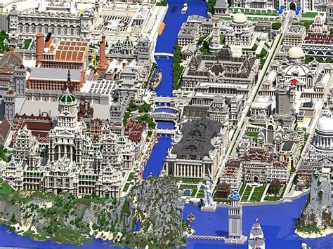 minecraft world map city homes imperial city minecraft project