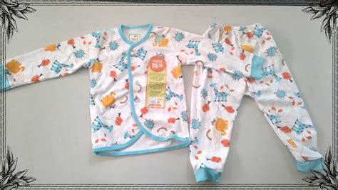 Velvet Junior Lengan Pendek jual baju tidur bayi velvet junior satu set lengan panjang ukuran m babyblueyshop